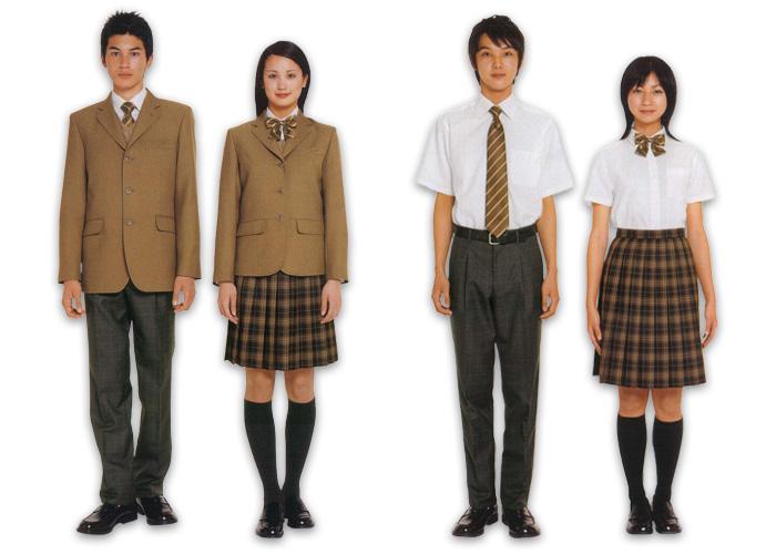 日本ウェルネス高等学校制服画像